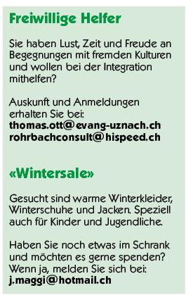 Freiwillige Helfer & Wintersale