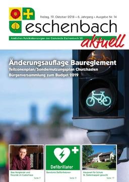«Eschenbach aktuell», Ausgabe Nr. 14/2018