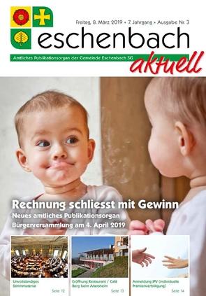 «Eschenbach aktuell» Ausgabe Nr. 3/2019
