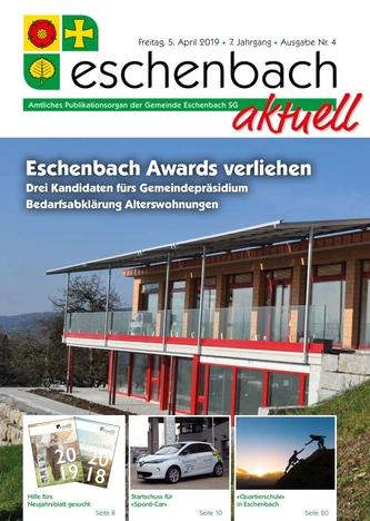 «Eschenbach aktuell» Ausgabe Nr. 4/2019
