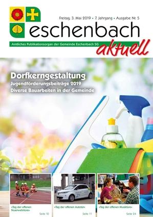 «Eschenbach aktuell» Ausgabe Nr. 5/2019