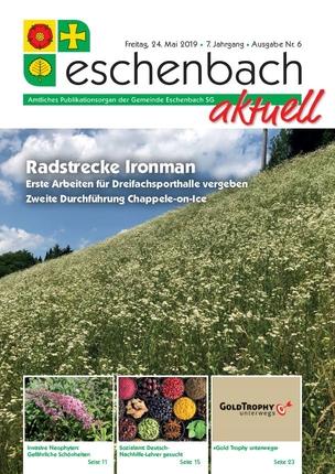 «Eschenbach aktuell» Ausgabe Nr. 06/19