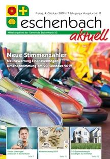 «Eschenbach aktuell» Ausgabe Nr. 11/2019