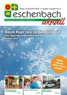 «Eschenbach aktuell» Ausgabe Nr. 14/2019