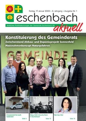 «Eschenbach aktuell», Ausgabe Nr. 1/2020