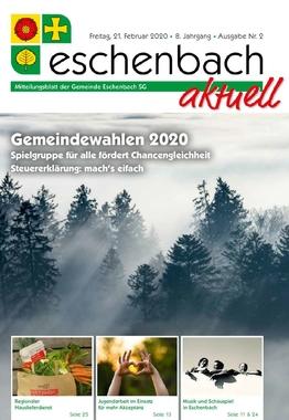 «Eschenbach aktuell» Ausgabe Nr. 02/2020