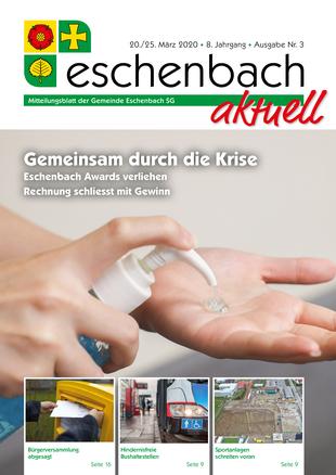 «Eschenbach aktuell», Ausgabe Nr. 3/2020