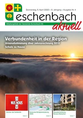 «Eschenbach aktuell» Ausgabe Nr. 4/2020