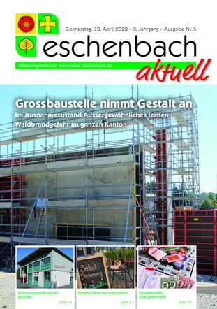 Ausgabe 05-20 «Eschenbach aktuell» (30.04.2020)