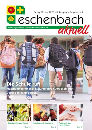 Ausgabe 06-20 «Eschenbach aktuell» (12.06.2020)