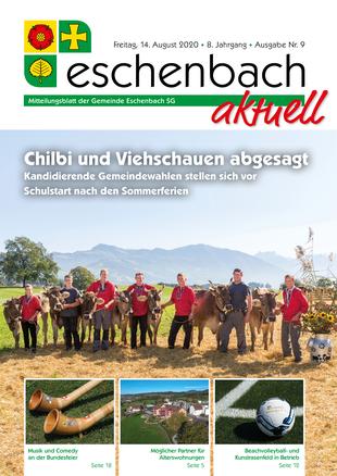 Ausgabe 09-20 «Eschenbach aktuell» (14.08.2020)