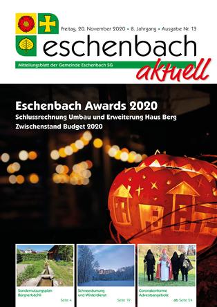 Ausgabe 13-20 «Eschenbach aktuell» (20.11.2020)