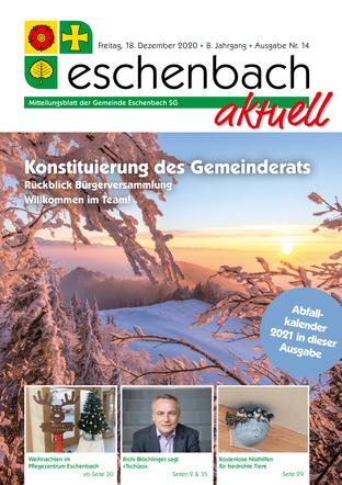 Ausgabe 14-20 «Eschenbach aktuell» (18.12.2020)