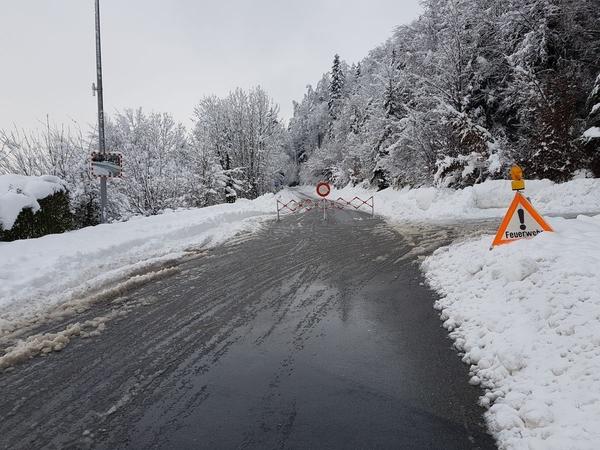 Strassen zwischen Schmerikon und Eschenbach aus Sicherheitsgründen gesperrt
