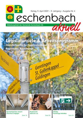 Ausgabe 04-21 «Eschenbach aktuell» (09.04.2021)