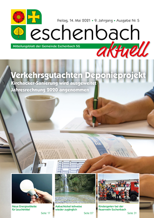 Ausgabe 04-21 «Eschenbach aktuell» (14.05.2021)