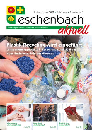 Ausgabe 06-21 «Eschenbach aktuell» (11.06.2021)