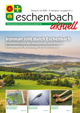 Ausgabe 07-21 «Eschenbach aktuell» (09.07.2021)