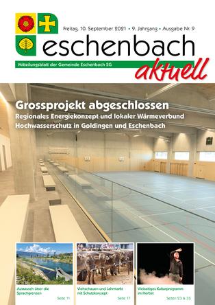 Ausgabe 09-21 «Eschenbach aktuell» (10.09.2021)