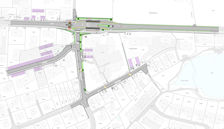 Strassenraumgestaltung und Sanierung Hofacker–Mühlestrasse–Rainstrasse