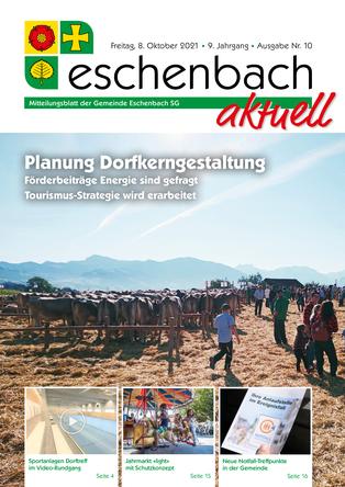 Ausgabe 10-21 «Eschenbach aktuell» (08.10.2021)